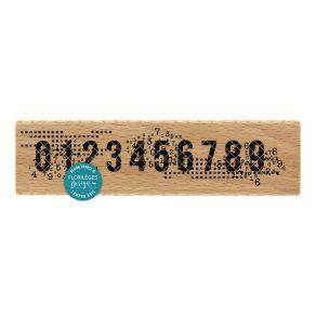Tampon bois 1 2 3 4 5 6