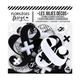 Décos Esperluettes par Florilèges Design. Scrapbooking et loisirs créatifs. Livraison rapide et cadeau dans chaque commande.