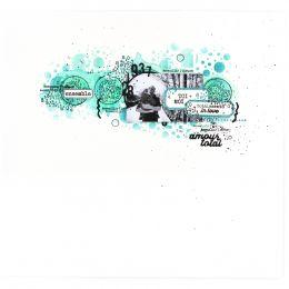 Outil de découpe AMOUR TOTAL par Florilèges Design. Scrapbooking et loisirs créatifs. Livraison rapide et cadeau dans chaque ...