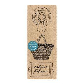 Tampon bois PANOPLIE CHAMPÊTRE par Florilèges Design. Scrapbooking et loisirs créatifs. Livraison rapide et cadeau dans chaqu...