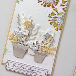 Tampons clear JARDIN DE SOUVENIRS par Florilèges Design. Scrapbooking et loisirs créatifs. Livraison rapide et cadeau dans ch...