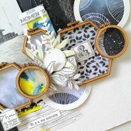 Tampon bois MANUFACTURE DU BONHEUR par Florilèges Design. Scrapbooking et loisirs créatifs. Livraison rapide et cadeau dans c...