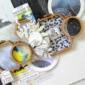 Tampon bois FEUILLAGE SOUPLE par Florilèges Design. Scrapbooking et loisirs créatifs. Livraison rapide et cadeau dans chaque ...