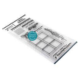 Tampons clear S'ÉMERVEILLER par Florilèges Design. Scrapbooking et loisirs créatifs. Livraison rapide et cadeau dans chaque c...