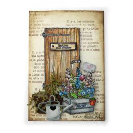 Tampon bois CAISSE DE FLEURS par Florilèges Design. Scrapbooking et loisirs créatifs. Livraison rapide et cadeau dans chaque ...
