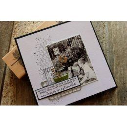 Parfait pour créer : Tampon bois TRÉSOR INESTIMABLE par Florilèges Design. Livraison rapide et cadeau dans chaque commande.