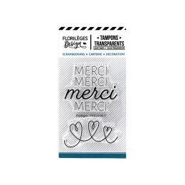 Tampons clear MERCI DE TOUT COEUR