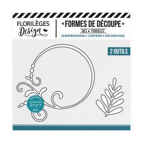 Outils de découpe CERCLE EMBELLI par Florilèges Design. Scrapbooking et loisirs créatifs. Livraison rapide et cadeau dans cha...