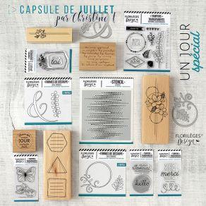 PROMO de -99.99% sur Pack complet Capsule de Juillet 2019 Florilèges Design