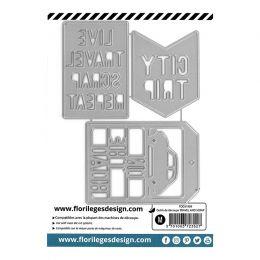 Outils de découpe TRAVEL AND SCRAP par Florilèges Design. Scrapbooking et loisirs créatifs. Livraison rapide et cadeau dans c...