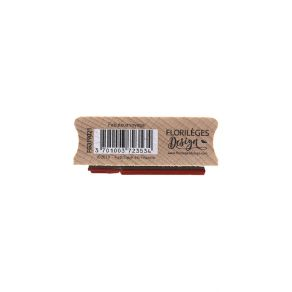 Tampon bois FABULEUX VOYAGE par Florilèges Design. Scrapbooking et loisirs créatifs. Livraison rapide et cadeau dans chaque c...