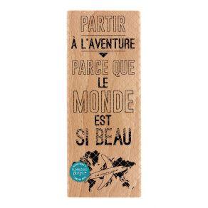 PROMO de -20% sur Tampon bois BEAU MONDE Florilèges Design