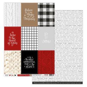 Papier imprimé CHRISTMAS COCOONING 2