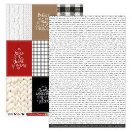 Papier imprimé CHRISTMAS COCOONING 2 par Florilèges Design. Scrapbooking et loisirs créatifs. Livraison rapide et cadeau dans...