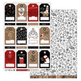 Papier imprimé CHRISTMAS COCOONING 8 par Florilèges Design. Scrapbooking et loisirs créatifs. Livraison rapide et cadeau dans...