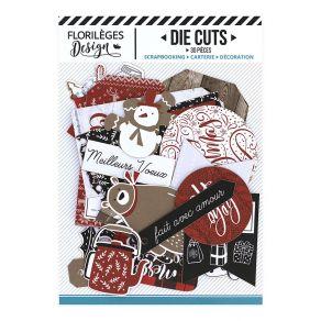 Commandez Die Cuts CHRISTMAS COCOONING Florilèges Design. Livraison rapide et cadeau dans chaque commande.