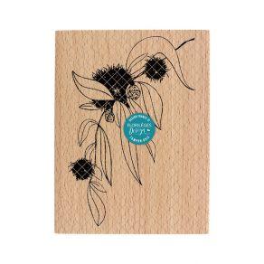 Tampon bois EXTRAIT D'AUTOMNE par Florilèges Design. Scrapbooking et loisirs créatifs. Livraison rapide et cadeau dans chaque...