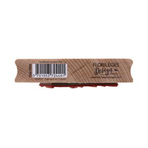 Tampon bois FEUILLAGES SUSPENDUS par Florilèges Design. Scrapbooking et loisirs créatifs. Livraison rapide et cadeau dans cha...