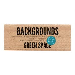 PROMO de -30% sur Tampon bois GREEN SPACE Florilèges Design
