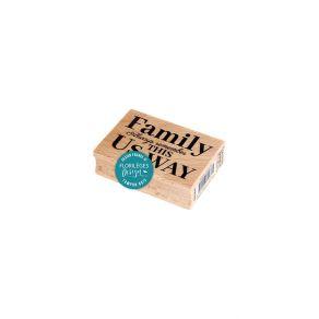 Tampon bois ALWAYS REMEMBER par Florilèges Design. Scrapbooking et loisirs créatifs. Livraison rapide et cadeau dans chaque c...