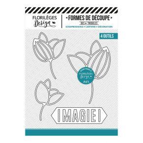 Outils de découpe TROIS BOUTONS par Florilèges Design. Scrapbooking et loisirs créatifs. Livraison rapide et cadeau dans chaq...