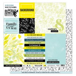 Parfait pour créer : Kit imprimés YELLOW par Florilèges Design. Livraison rapide et cadeau dans chaque commande.