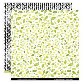 Papier imprimé YELLOW 5 par Florilèges Design. Scrapbooking et loisirs créatifs. Livraison rapide et cadeau dans chaque comma...