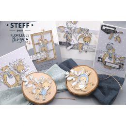 Tampons clear HIVER MIGNON par Florilèges Design. Scrapbooking et loisirs créatifs. Livraison rapide et cadeau dans chaque co...