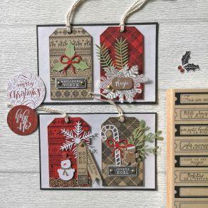 Commandez Tampon bois TAGS ET COMPAGNIE Florilèges Design. Livraison rapide et cadeau dans chaque commande.