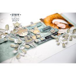 Commandez Tampon bois FEUILLAGE SIMPLISSIME Florilèges Design. Livraison rapide et cadeau dans chaque commande.