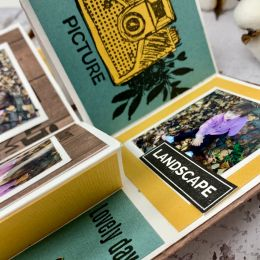Tampon bois PICTURE par Florilèges Design. Scrapbooking et loisirs créatifs. Livraison rapide et cadeau dans chaque commande.