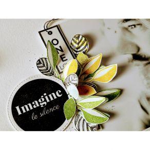 Parfait pour créer : Tampon bois IMAGINE par Florilèges Design. Livraison rapide et cadeau dans chaque commande.