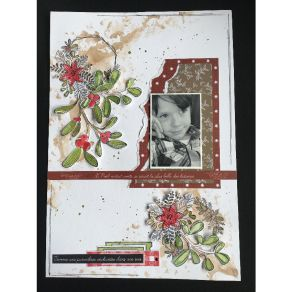 Combo Clear Die  CHRISTMAS COCOONING 1