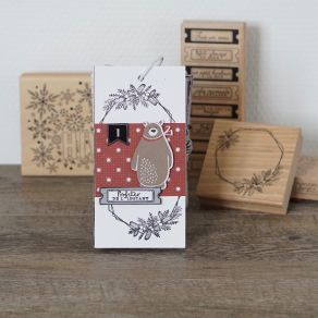 Combo Clear Die CHRISTMAS COCOONING 2