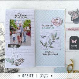 Kit LA MAISON DE JEANNE par Florilèges Design. Scrapbooking et loisirs créatifs. Livraison rapide et cadeau dans chaque comma...