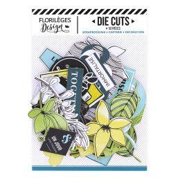 Die Cuts YELLOW par Florilèges Design. Scrapbooking et loisirs créatifs. Livraison rapide et cadeau dans chaque commande.