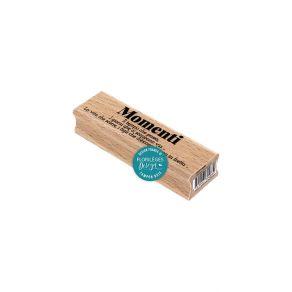 Tampon bois italien IL TEMPO CHE SCORRE par Florilèges Design. Scrapbooking et loisirs créatifs. Livraison rapide et cadeau d...