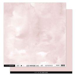 Papier Uni N°7 ROSE LOTUS