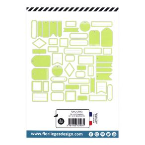 Etiquettes N°2 VERT BOURGEON