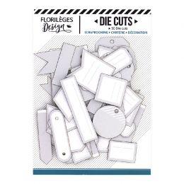 Etiquettes N°4 GRIS DOUX