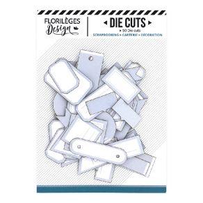 Etiquettes BLEU ACIER par Florilèges Design. Scrapbooking et loisirs créatifs. Livraison rapide et cadeau dans chaque commande.