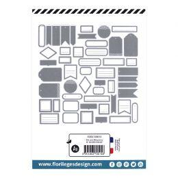 Etiquettes N°10 GRIS ORAGE