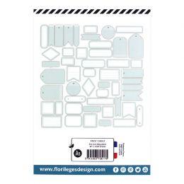 Etiquettes N°13 VERT D'EAU