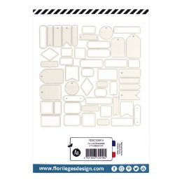 Etiquettes N°15 BEIGE LIN