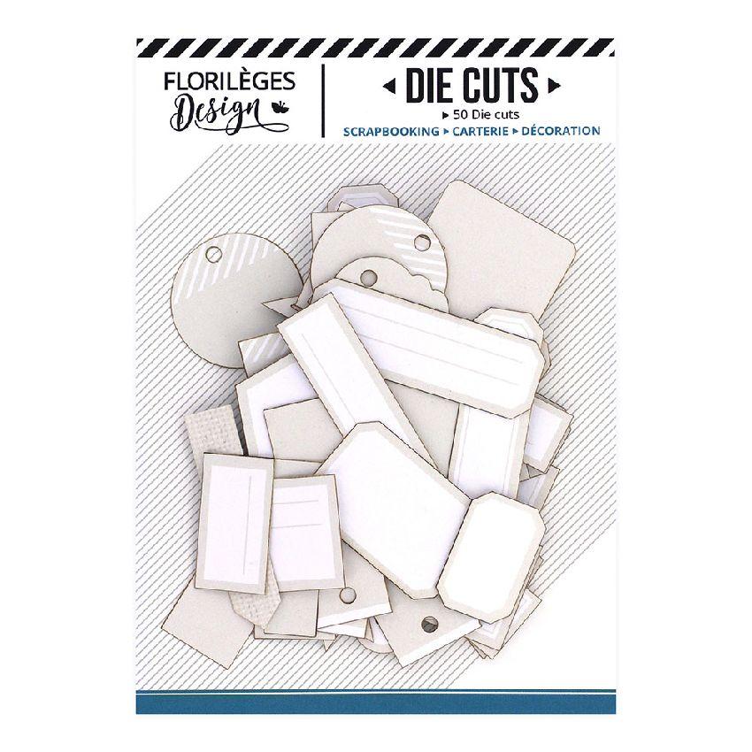 Etiquettes BEIGE LIN par Florilèges Design. Scrapbooking et loisirs créatifs. Livraison rapide et cadeau dans chaque commande.