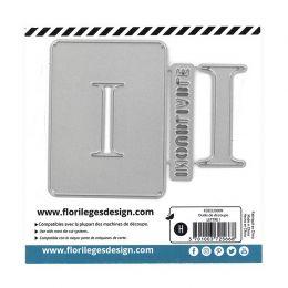Outil de découpe LETTRE I par Florilèges Design. Scrapbooking et loisirs créatifs. Livraison rapide et cadeau dans chaque com...