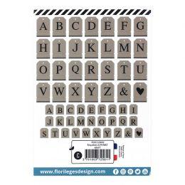 Étiquettes ALPHABET KRAFT par Florilèges Design. Scrapbooking et loisirs créatifs. Livraison rapide et cadeau dans chaque com...