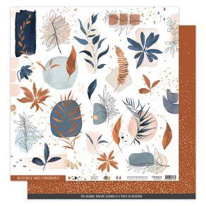 Papier imprimé OR SAISON 4 par Florilèges Design. Scrapbooking et loisirs créatifs. Livraison rapide et cadeau dans chaque co...