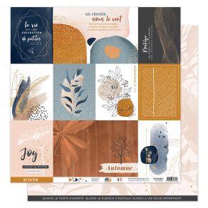Papier imprimé OR SAISON 1 par Florilèges Design. Scrapbooking et loisirs créatifs. Livraison rapide et cadeau dans chaque co...