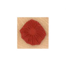 Tampon bois FLEUR SOLEIL